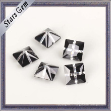 Pierre de zircon cubique de couleur mélangée à la mode de conception unique
