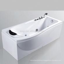 Cheap Fiberglass Whirlpool Massage Bathtub (AM190)