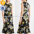 Floral-Print Multi Color mangas Midi Summer Daily Dress Fabricação Atacado Moda Feminina Vestuário (TA0005D)