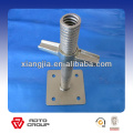 Scaffolding Galvanized Adjustable Screw Base Jack to africa