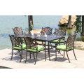 High Quality Outdoor Leisure Garden Furniture Cast Aluminum Chair (SD516; SZ214)