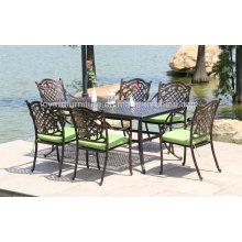 Alta qualidade Outdoor Leisure Garden Furniture cadeira de alumínio fundido (SD516; SZ214)