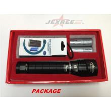 Jexree cree xm-l t6 led lampe de poche cree led power style lampe de poche