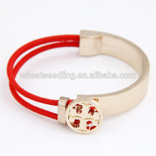 Empfindliche Persönlichkeit einfache Kreuz Armband elastisch für Frauen