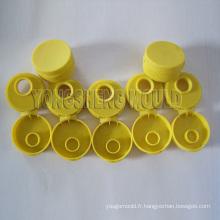 Moule jaune en plastique de chapeau de secousse (YS)