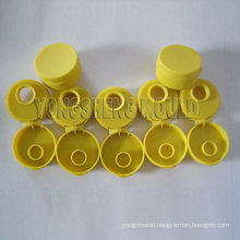 Plastic Yellow Flip Cap Mould (YS)