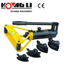 HHW-1A tubo manual e tubo dobrador, máquina de dobra da tubulação