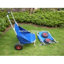 China for Beach Cart Wheels Aluminum cart, Beach accessories trolley, Anodized frame fishing trailer supply to North Korea Importers