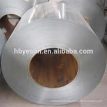 Bobina de acero revestida color galvanizada caliente, bobina de acero galvanizada sumergida caliente dx51d, alta resistencia a la corrosión acero galvanizado coi