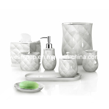 Porcelain Bath Accessories Set (WBC0634B)
