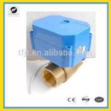 """Формате cwx-60р 5 В постоянного тока Латунь 3/4"""" полный порт электрический шаровой клапан с сигналом обратной связи для государственной должности"""
