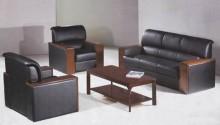 ソファーの椅子、オフィスのソファ、革のソファ (A11)
