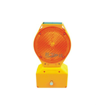 Traffic LED Tower Warning Light / Solar Powered Road Block Barricade Light