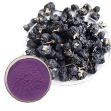 Polvo de baya de goji negro de grado alimenticio orgánico