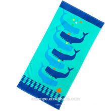 Beautiful whale Kids Beach Towel BT-546 Wholesale China Supplier