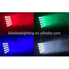2015 neue hohe Helligkeit bewegte Kopf Strahl rgbw 5x5 LED-Matrix