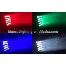 2015 new high brightness moving head beam rgbw 5x5 led matrix