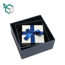 Unterschied-Farbdesign-Kasten für den Geschenkpapier-Kasten mit Band