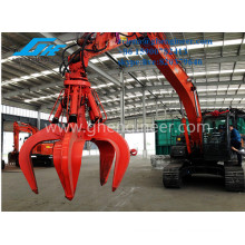 Multi Application Excavator with Grab for Steel, Bulk