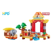 Plastic Assembly Toys Plastic Decompression Bricks For Kids