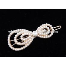 Новое прибытие горячая популярная мода мило жемчужина узел узел волос шпильки ювелирные изделия