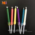 Deft Design Fantastic And Amazing Six Color Flame Birthday Candle For Children Use