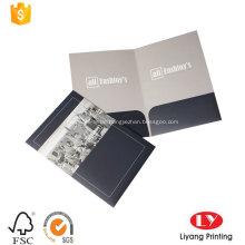 Heißer Verkauf gedruckt Pocket File Folder