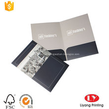 Carpeta de archivos de bolsillo impresos de venta caliente