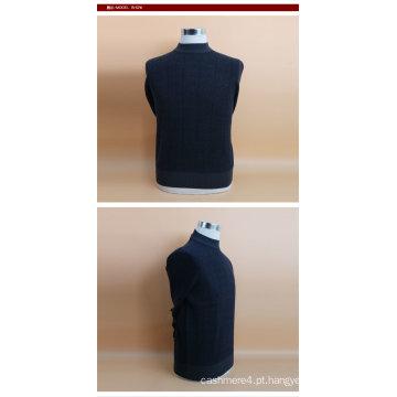 Lã de iaque / Cashmre em torno do pescoço camisola de manga comprida / vestuário / roupa / malhas