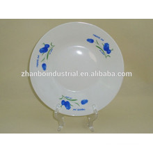 China style cheap bulk ceramic dinner plate heated catering dinner plates