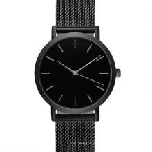 Nuevo estilo de relojes de acero inoxidable con banda de malla Bg281