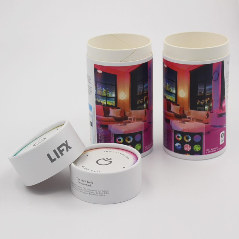 Off Set Printing Luxury Round Hat Gift Packaging Box