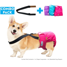 Washable Female Dog Diaper Suspenders
