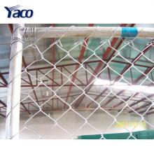 Belle porte d'entrée conçoit la clôture de maillon de chaîne en acier, clôture de maillon de chaîne en gros