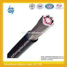 2*4AWG+4AWG,2*проводником 8awg,2*менее 10awg, 8000 серии алюминиевого сплава проводника бронированный кабель xlpe /ПВХ изоляцией концентрические электрического кабеля