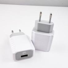 Single USB Port Wall Charger with EU US UK Plug