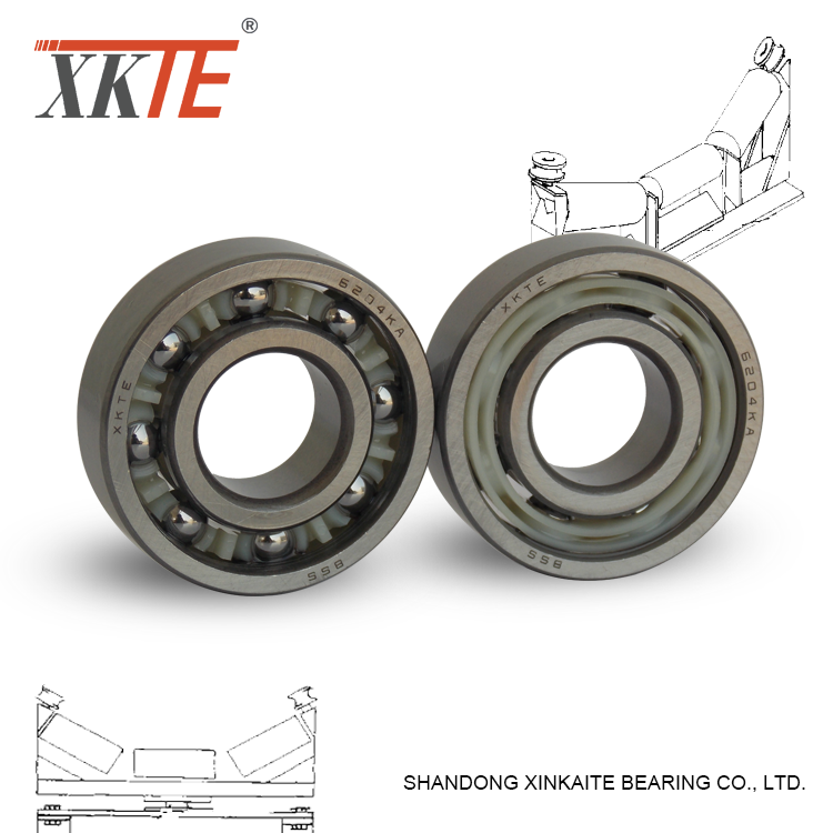 Polyamide+PA+Cage+Bearing+6204+KA+For+Conveyor