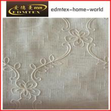 Fashion Embroidered Organza Curtain Fabric EDM2043