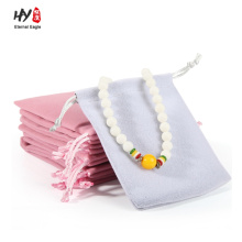 High-end luxury jewelry velvet pouch