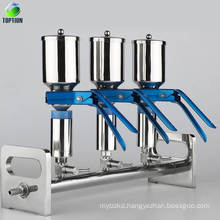 Laboratory Multi-branch Glass Vacuum Filter Manifolds Solvent Filtration System
