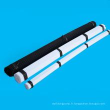 Plastique noir et blanc extrudé Pom Rod