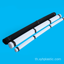 สีขาวดำ Extruded Acetal Pom Rod