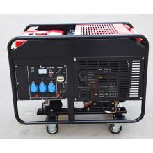 Fabrik-direkte Drei-Phasen-Zweizylinder 10kw Portable Silent Typ Benzin-Motor-Generator
