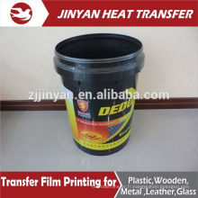 best selling heat transfer film for plastic buckets