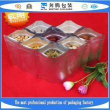 Растения Поставка Алюминиевая фольга Постоянная Сумки для молнии, Сумка для упаковки пищевых продуктов