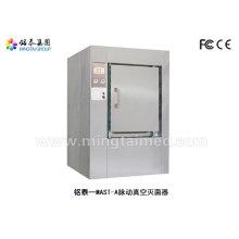 Pulsating vacuum steam steriliz