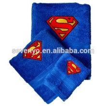 Custom Superman 100% cotton towel