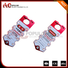 Elecpopular Latest Products In Market OEM Aluminum Safety Lockout Hasp with Tag