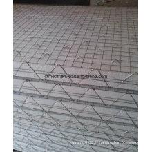 Maille chaude de Polyfoam de la vente 3D de bas prix pour la construction