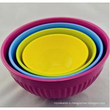 (BC-MB1008) High Quality Reusable Melamine Bowl Set